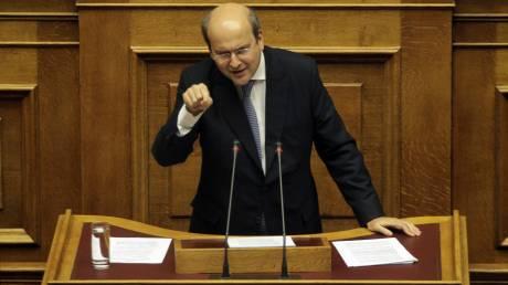 Χατζηδάκης: αποσύρετε τη ρύθμιση και θα την ψηφίσουμε μετά τη συμφωνία