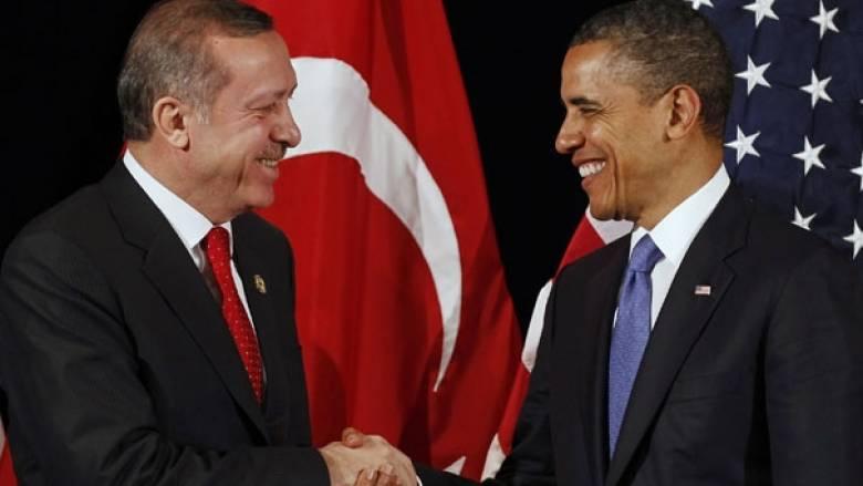 Τηλεφωνική επικοινωνία Ομπάμα-Ερντογάν για Συρία και Ιράκ
