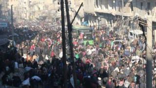 Χαλέπι: Η επιχείρηση αποχώρησης αμάχων «πάγωσε», ο εφιάλτης επέστρεψε