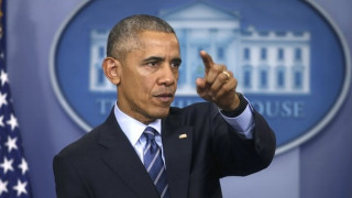 Το απρόοπτο στην τελευταία συνέντευξη Τύπου του Μπ. Ομπάμα (vid)