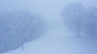 Χιονοθύελλα στο Πήλιο - Έκλεισε το χιονοδρομικό κέντρο
