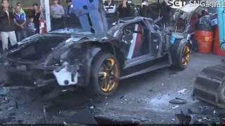Διέλυσαν Lamborghini επειδή είχε ψεύτικες πινακίδες (Vid)