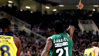 Euroleague: ο Γκέιμπριελ στο Top-10 της 12ης αγωνιστικής
