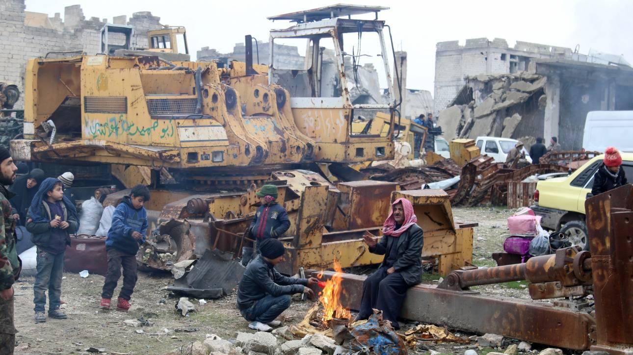 Χαλέπι: Καθυστερεί η εκκένωση εξαιτίας του Ιράν