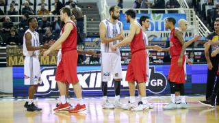 Α1 μπάσκετ: νίκη του Ολυμπιακού στην έδρα του ΠΑΟΚ