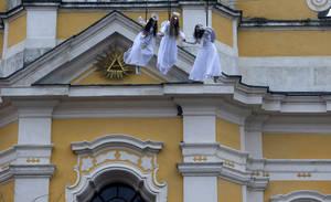 Άγγελοι πετούν στην Τσεχία
