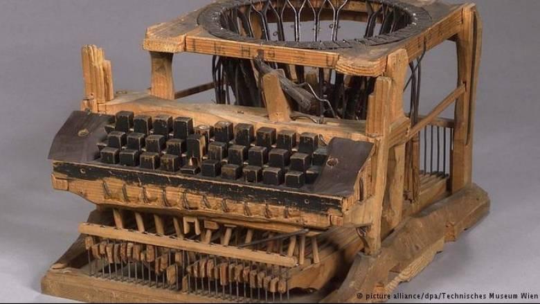 Η πρώτη γραφομηχανή στον κόσμο: Η ιστορία της (pic)