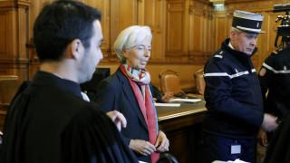 Ένοχη χωρίς ποινή κρίθηκε η Κριστίν Λαγκάρντ