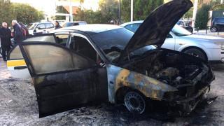 Έκαψαν αυτοκίνητο του Δήμου Ελληνικού-Αργυρούπολης (pics)