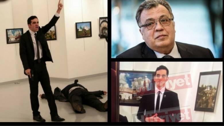 Νεκροί ο Ρώσος πρέσβης και ο δράστης - Βίντεο από τη στιγμή του πυροβολισμού