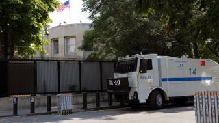 Πυροβολισμοί στην πρεσβεία των ΗΠΑ στην Άγκυρα