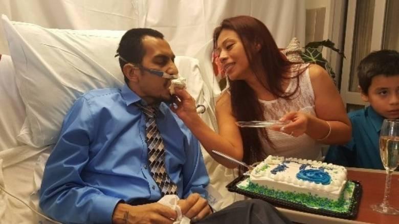 Παντρεύτηκε σε νοσοκομείο και 36 ώρες αργότερα πέθανε από λευχαιμία