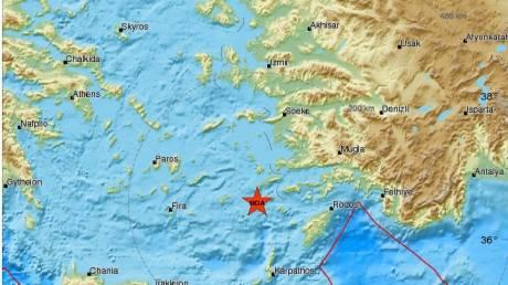 Σεισμός 5.2 στη Νίσυρο
