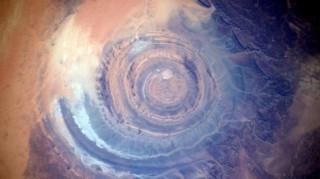Αστροναύτης κατέγραψε το  «Μάτι της Αφρικής» (Pics)