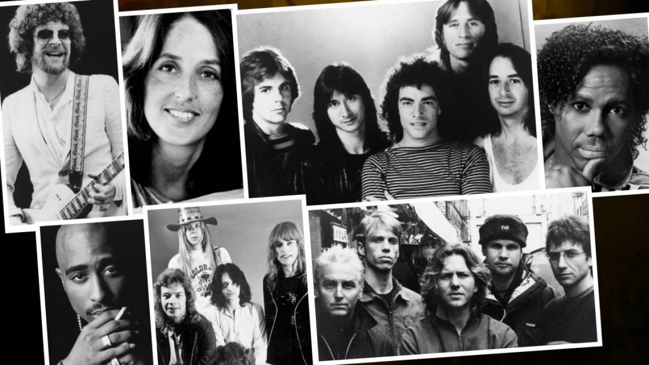 Pearl Jam, Tζόαν Μπαέζ και Tupac στο πάνθεον του Rock & Roll Hall of Fame