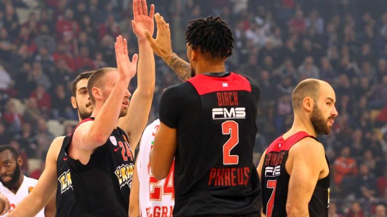 Euroleague: ο Ολυμπιακός δεν δυσκολεύτηκε με τον Ερυθρό Αστέρα