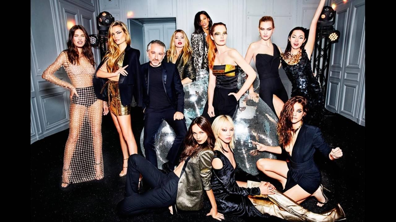O Cyril Chapuy, πρόεδρος της L'Oréal Paris, και τα κορίτσια του.