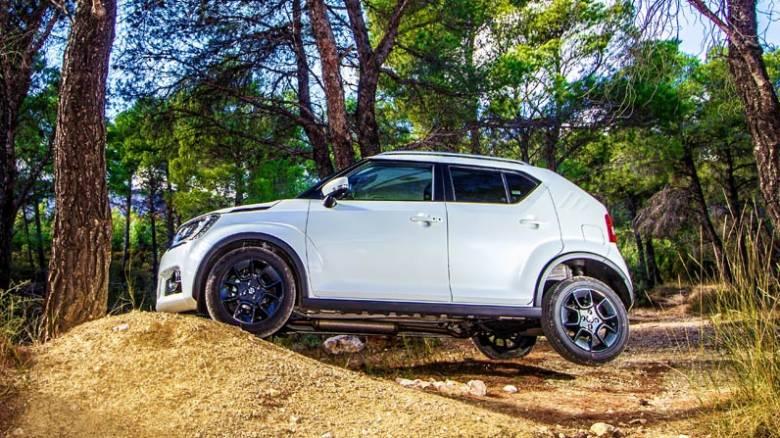 Το καινούργιο mini SUV της Suzuki, το Ignis, είναι και υβριδικό.