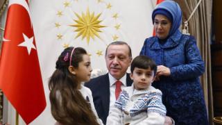 Η μικρή Μπάνα από το Χαλέπι συνάντησε τον Ερντογάν