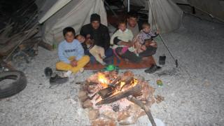 Τέλος στο μαρτύριο του κρύου για τους πρόσφυγες στον καταυλισμό της Σούδας