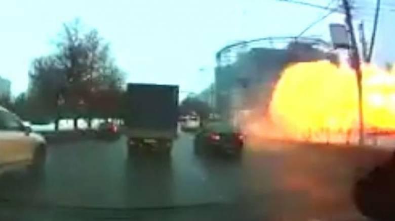 Ισχυρή έκρηξη σε σταθμό του μετρό στη Μόσχα (vid)