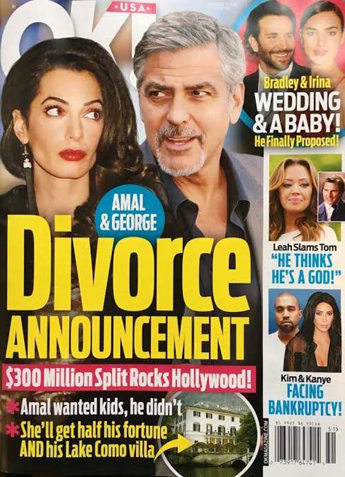 clooney divorce
