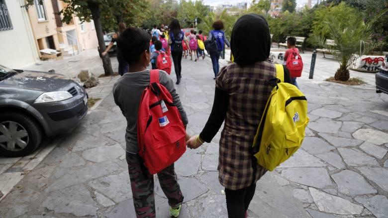 Τέλος σχολικού τριμήνου για περισσότερα από 1.200 προσφυγόπουλα