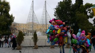 Χριστούγεννα: άργησαν να έρθουν στην Αθήνα