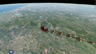 Πόσα δώρα έχει παραδώσει ο Άγιος Βασίλης; Δείτε live