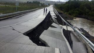 Σεισμός Χιλή: Άνοιξε η γη από τα 7,7 Ρίχτερ, συναγερμός για τσουνάμι (pics)