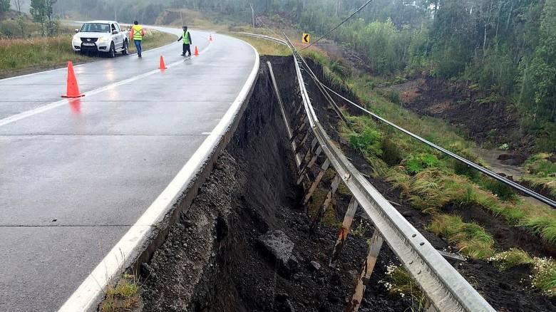 Χιλή: Υλικές ζημιές από τον σεισμό των 7,6 Ρίχτερ (pics)