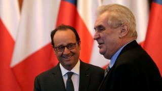 Άρνηση υποδοχής μουσουλμάνων μεταναστών και επίθεση στην ΕΕ από τον τσέχο πρόεδρο