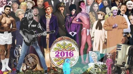 Λέια, Prince, Μπόουϊ, Τζορτζ Μάικλ & όσοι χάσαμε το 2016 σε μια εικόνα