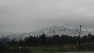 Στα λευκά ντύθηκαν τα βουνά του Ρεθύμνου (pics)