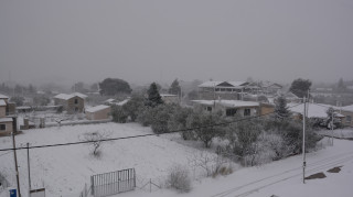 Χιόνια στην Αττική και πολικές θερμοκρασίες