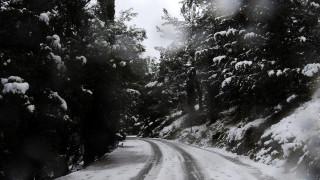 Καιρός: Πού χρειάζονται αλυσίδες - Ποιοι δρόμοι είναι κλειστοί