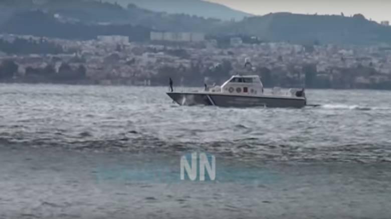 Γυναίκα πήδηξε από τη γέφυρα του Ρίου Αντιρρίου (pics)