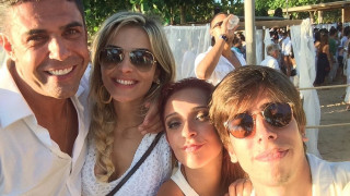 Ο Άλβαρο ξέχασε την Αθηνά Ωνάση και το δείχνει με selfies (pics)