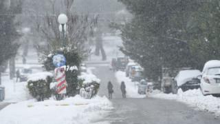 Καιρός: Στα λευκά θα ντυθεί η χώρα - Έντονη χιονόπτωση και στην Αθήνα
