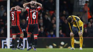 Premier League: το 3-3 δεν ικανοποίησε Μπόρνμουθ και Άρσεναλ