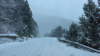 Χιονοπτώσεις και χαμηλές θερμοκρασίες στον νομό Ιωαννίνων