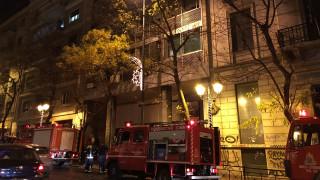 Φωτιά σε διαμέρισμα στην Ακαδημίας