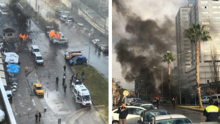 Ισχυρή έκρηξη σε δικαστήριο στη Σμύρνη