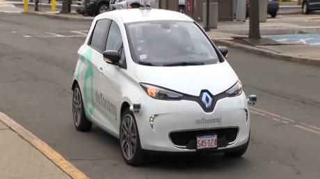 Αυτοκίνητα χωρίς οδηγό στους δρόμους της Βοστώνης