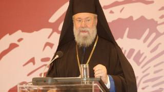 Κυπριακό: Απαισιόδοξος ο Αρχιεπίσκοπος Χρυσόστομος