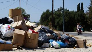 Ξανά πρόβλημα με τα σκουπίδια στην Αθήνα