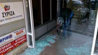 Επίθεση αγνώστων στα γραφεία του ΣΥΡΙΖΑ στη Θεσσαλονίκη (pics)