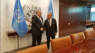 Κυπριακό: χωρίς κοινή συνισταμένη με την Τουρκία επιστρέφει ο Κοτζιάς από τη Νέα Υόρκη