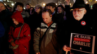 «Je suis Charlie»: Φόρος τιμής στους νεκρούς των τρομοκρατικών επιθέσεων