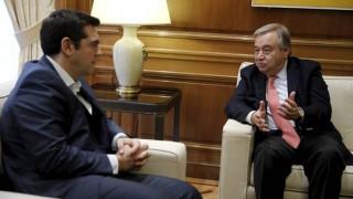 Κυπριακό: Τηλεφωνική επικοινωνία Τσίπρα - Γκουτιέρες